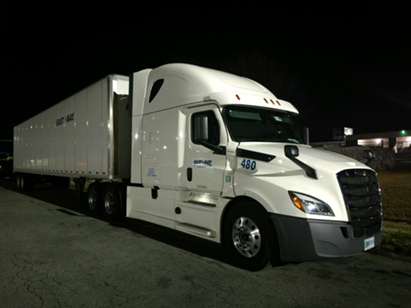 General freight hauling services for the eastern half of the United States with a focus on the mid-Atlantic